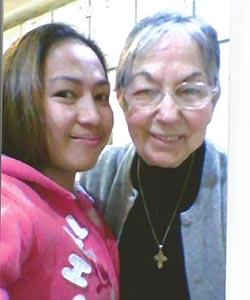 Photo: Gabriela-P. BScN, Caregiver with Seniors