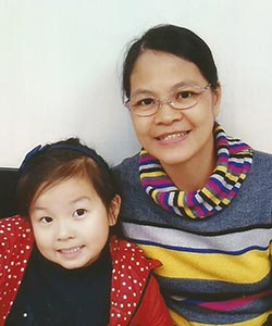 Photo: Maria Girlie Y., Domestic Helper, Caregiver